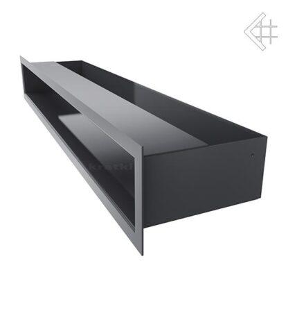 Kratka wentylacyjna luft sf 90x600 grafitowy 2 kratki pl