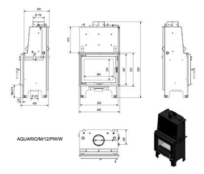 N wymiary aquario pw m12